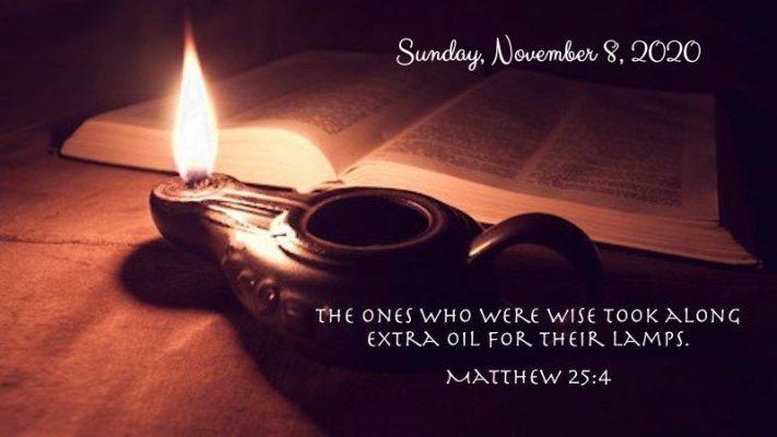 Nov 8_Oil in my lamp