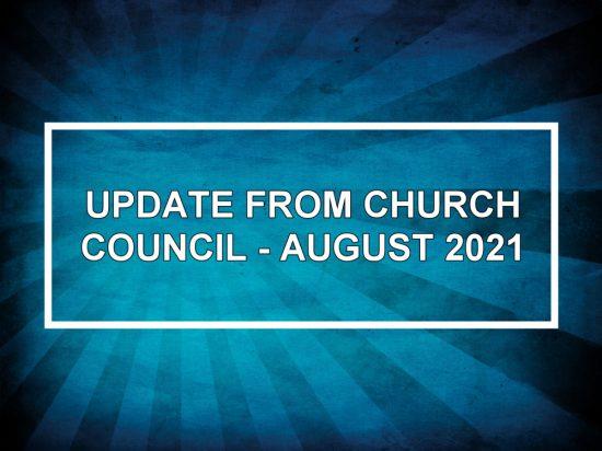 Update August 2021
